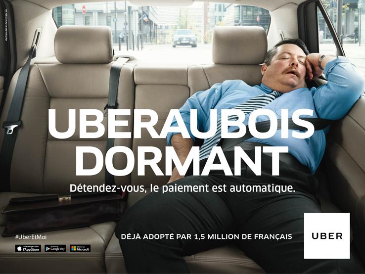 UBERAUBOISDORMANT 12 – Crossing the Channel with Uber