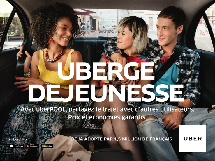 UBERGEDEJEUNESSE 7 – Crossing the Channel with Uber
