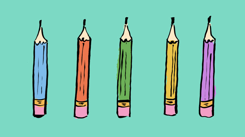 pencils 1 – Copywriting: 5 Golden Rules
