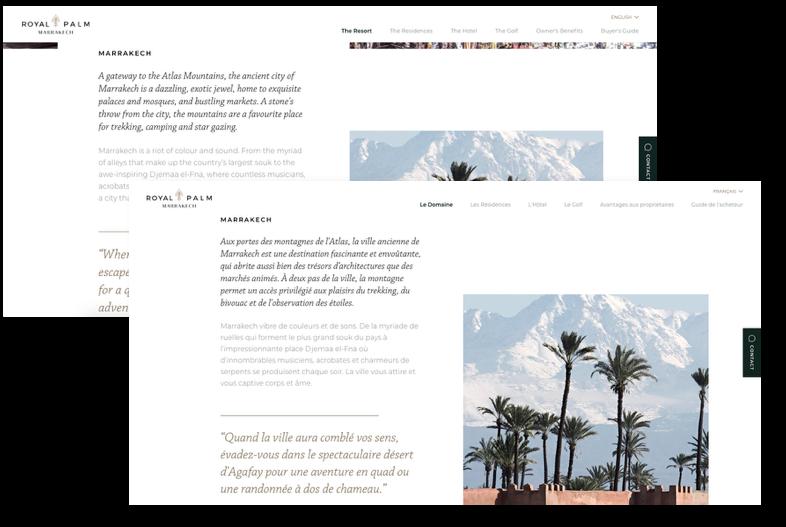 royal palm marrakech transcreation