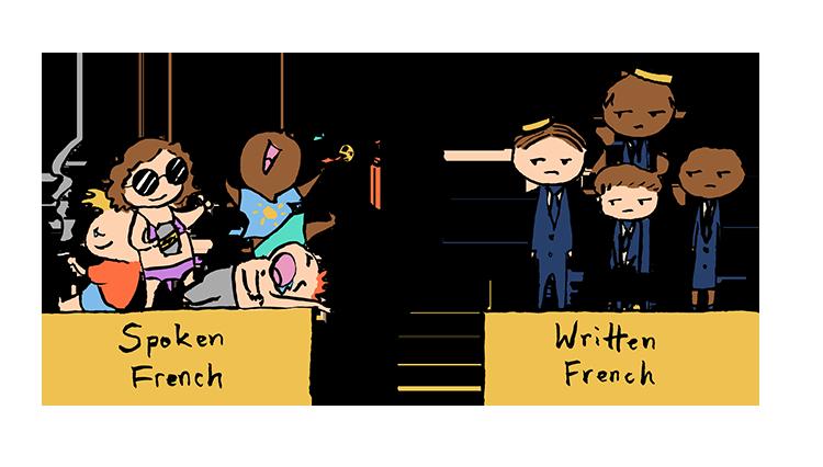 spoken vs written french SM – 5 Things That Make French Transcreation So Fiendishly Hard